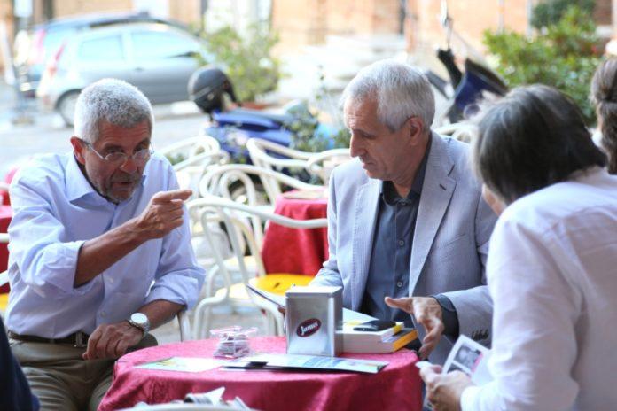 Giovanni Bignami e Roberto Ippolito Civitanova 26 luglio 2013 foto Luigi Gasparroni