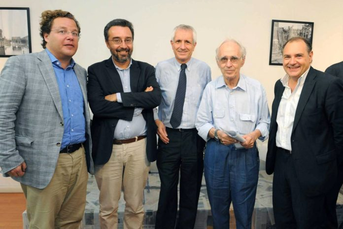 L.Tarantelli M.Damilano Roberto Ippolito Pierre Carniti M.Riccardi foto Agr