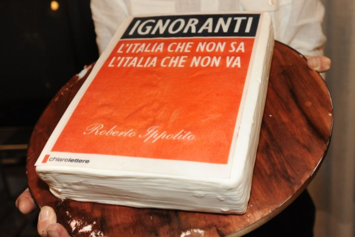 Roberto Ippolito Ignoranti torta 1 - 5 settembre 2013