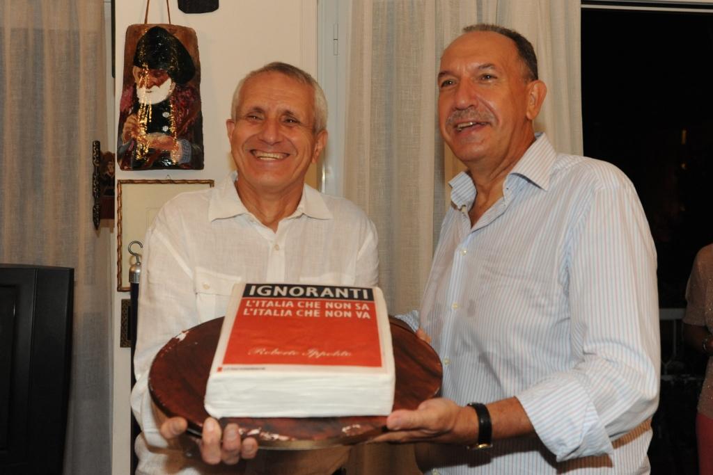 Roberto Ippolito Ignoranti torta 3