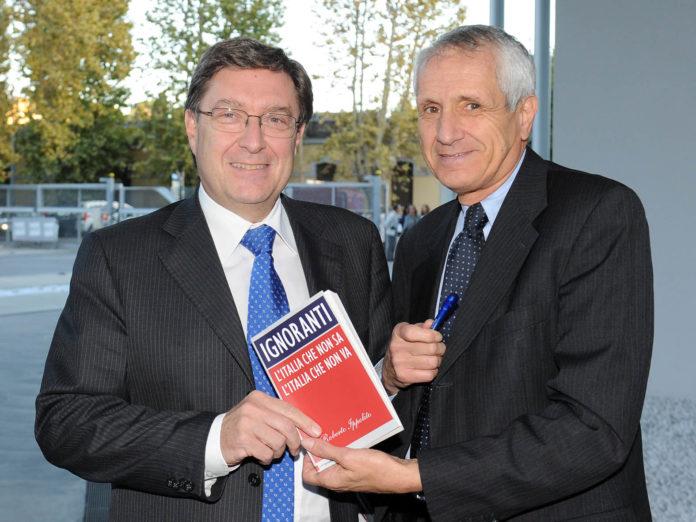 Enrico Giovanni e Roberto Ippolito Ignoranti 16 ottobre 2013 Foto Maurizio Riccardi Agr