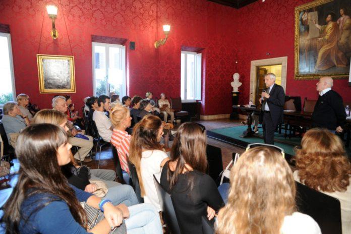 Roberto Ippolito Ignoranti Biblioteca Sarti Accademia di San Luca 17 ottobre 2013 1