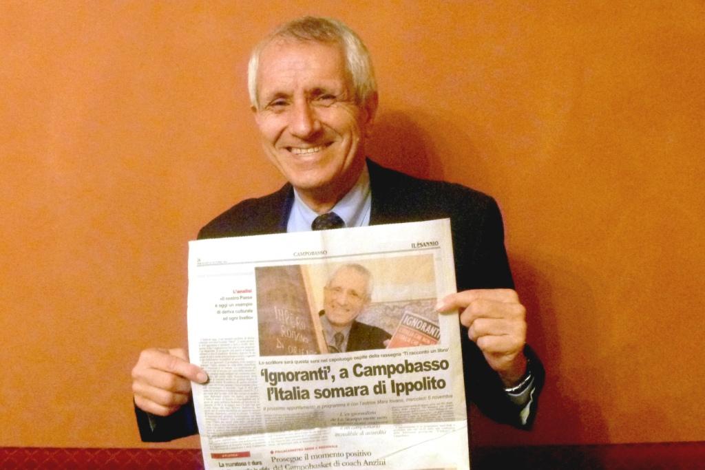 Roberto Ippolito Ignoranti Campobasso 30 ottobre 2013