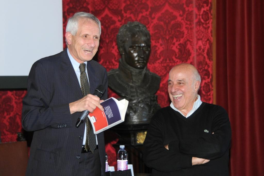 Roberto Ippolito Ignoranti e Sergio Auricchio Biblioteca Sarti Accademia di San Luca 17 ottobre 2013