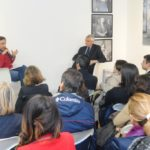 19 novembre 2013 1 Mario Tozzi e Roberto Ippolito a Spazio5 foto Agr