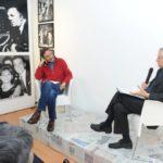 19 novembre 2013 2 Mario Tozzi e Roberto Ippolito a Spazio5 foto Agr