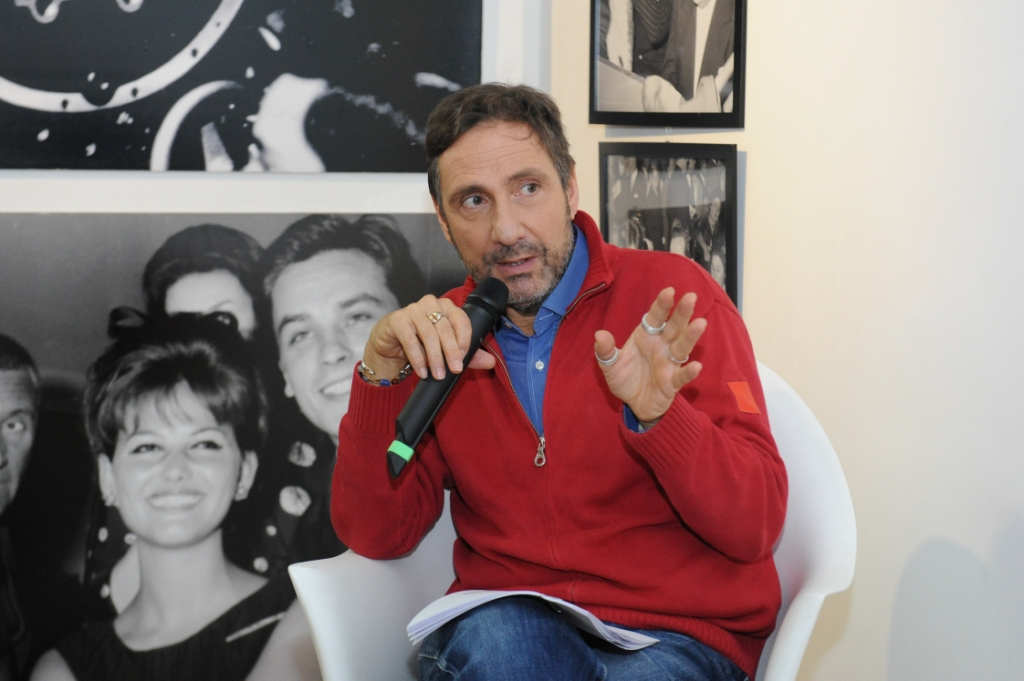 19 novembre 2013 5 Mario Tozzi a Spazio5 foto Agr