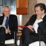 5 Roberto Ippolito e Eric de Chassey Villa Medici 5 novembre 2013 foto Maurizio Riccardi