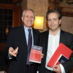 9 Roberto Ippolito e Eric de Chassey Villa Medici 5 novembre 2013 foto Maurizio Riccardi