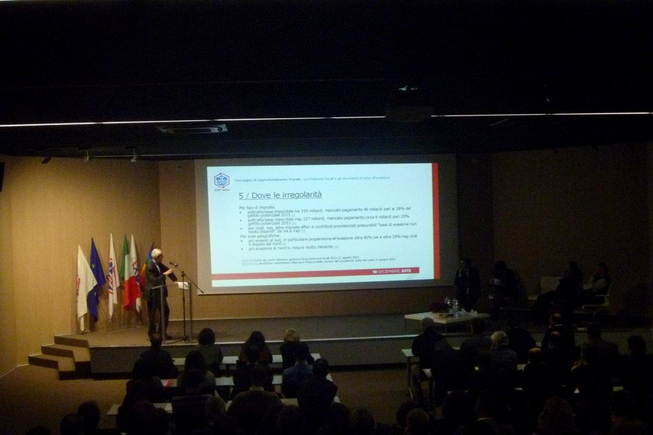Roberto Ippolito 'Ancora (troppi) Evasori' al Caf Acli 18 dicembre 2013 (2)