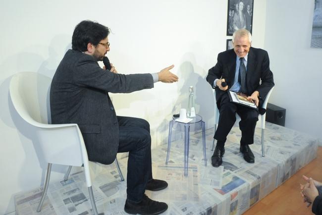 Costantino D'Orazio e Roberto Ippolito Spazio5 Roma 18 marzo 2014 foto Agr