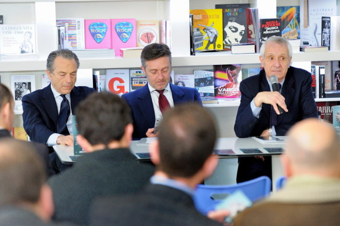 Libri al centro 01 26 marzo 2014 Marcello Ciccaglioni Fabio Del Giudice e Roberto Ippolito