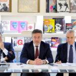 Libri al centro 04 26 marzo 2014 Marcello Ciccaglioni Fabio Del Giudice e Roberto Ippolito