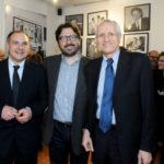 Maurizio Riccardi Costantino DOrazio e Roberto Ippolito Spazio5 Roma 18 marzo 2014 foto Agr
