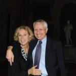 Giovanna Melandri e Roberto Ippolito Villa Medici 5 novembre 2013 foto Maurizio Riccardi