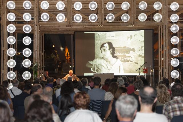 Maxxi 18 settembre 2014 1. Ferdinando Scianna e Roberto Ippolito curatore Nel baule foto Flaminia Nobili
