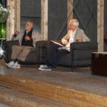 Maxxi 18 settembre 2014 2. Ferdinando Scianna e Roberto Ippolito curatore Nel baule foto Flaminia Nobili