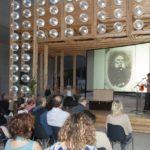 Maxxi 18 settembre 2014 3. Ferdinando Scianna Roberto Ippolito curatore Nel baule e Anna Bonaiuto foto Flaminia Nobili