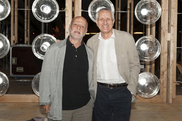 Maxxi 18 settembre 2014 6. Ferdinando Scianna e Roberto Ippolito curatore Nel baule foto Flaminia Nobili