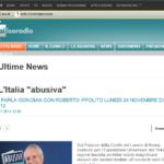 Roberto Ippolito Abusivi Chiarelettere a Isoradio 24 novembre 2014 annuncio