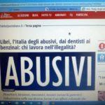 Roberto Ippolito Abusivi Chiarelettere su Il Fatto Quotidiano.it 31 ottobre 2014
