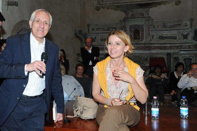 Roberto Ippolito e Concita De Gregorio Ragusa 27 maggio 2012 foto Maurizio Riccardi Agr