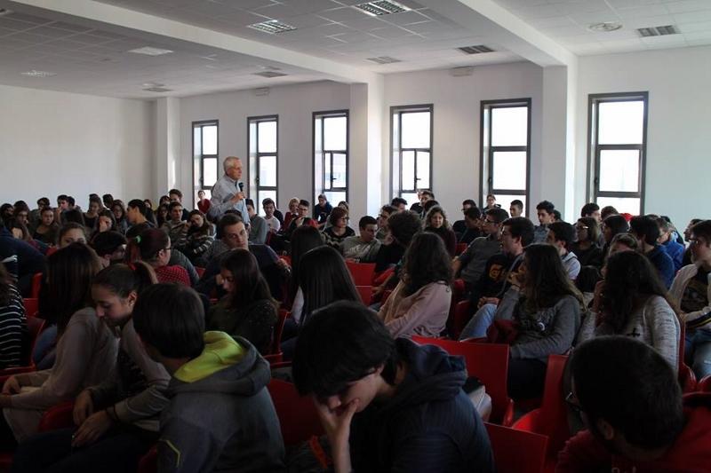 2014 12 13 03 Roberto Ippolito Liceo scientifico Rosetti San Benedetto del Tronto