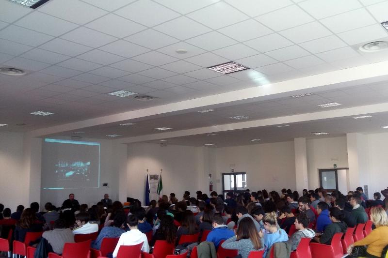 2014 12 13 05 Stefano Petrocchi Liceo scientifico Rosetti San Benedetto del Tronto