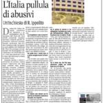 Roberto Ippolito Abusivi Chiarelettere La Gazzetta del Mezzogiorno 5 gennaio 2015