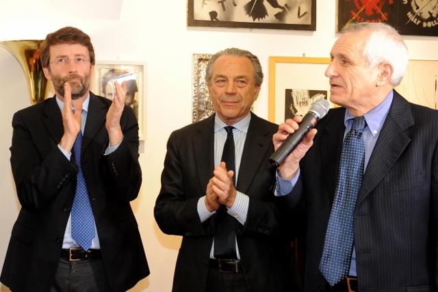Arion Montecitorio 1 aprile 2015 1. Dario Franceschini Marcello Ciccaglioni e Roberto Ippolito foto Maurizio Riccardi Agr