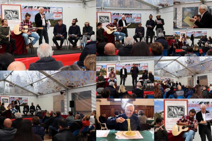 Roberto Ippolito Allosteria con Mario Luzi 24nov19 San Miniato Mostra mercato tartufo bianco