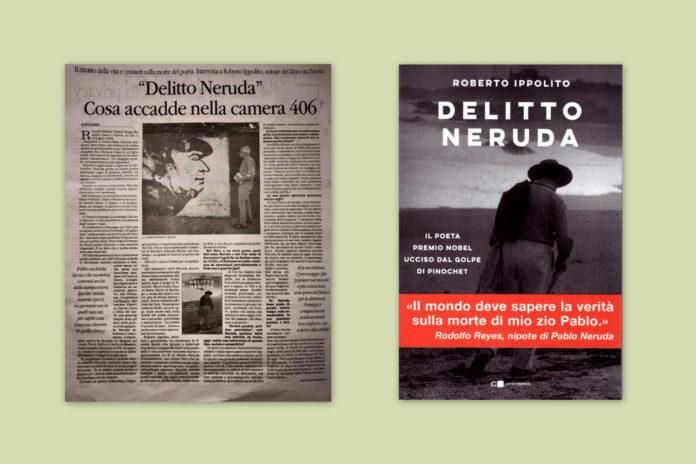 """""""Delitto Neruda"""": il poeta dà fastidio ancora oggi. lntervista al Quotidiano del Sud con Rita Sanzi 26 aprile 2020"""
