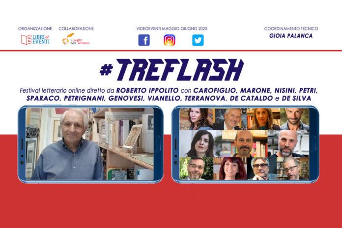 #TreFlash festival letterario online diretto dallo scrittore Roberto Ippolito maggio - giugno 2020