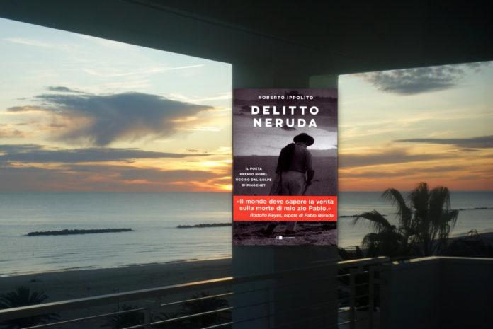 Roberto Ippolito Delitto Neruda Chiarelettere a San Benedetto del Tronto alla Palazzina Azzurra con Mimmo Minuto 29 giugno 2020