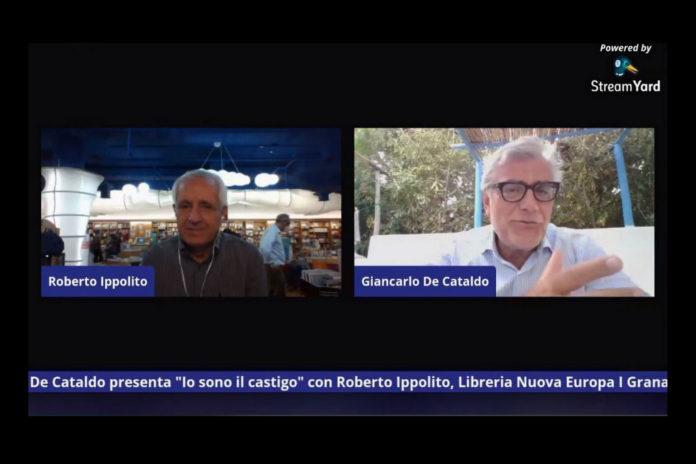 """Roberto Ippolito e Giancarlo De Cataldo (""""Io sono il castigo"""" Einaudi) diretta Facebook Nuova Europa I Granai 15 luglio 2020"""