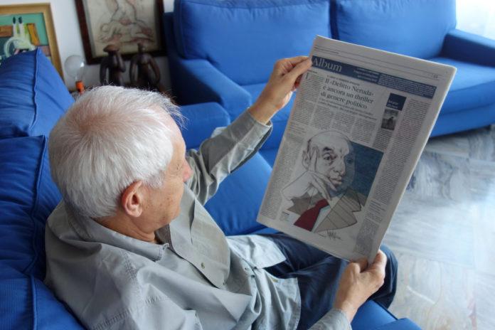 """Roberto Ippolito con la recensione di """"Delitto Neruda"""" (Chiarelettere) pubblicata da """"Il Giornale"""" e firmata da Gabriele Morelli 21 agosto 2020"""