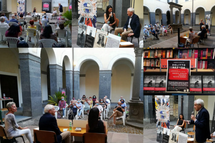 """Roberto Ippolito presenta """"Delitto Neruda"""" (Chiarelettere) a Bracciano con l'associazione culturale Humanae Vitae 21 agosto 2020"""