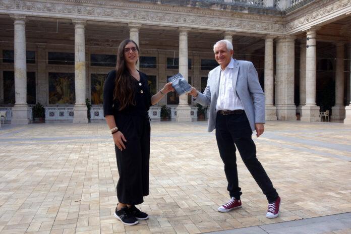 """Giovanna Cristina Vivinetto e Roberto Ippolito autore di """"Delitto Neruda"""" (Chiarelettere) 20 settembre 2020 Montecatini Terme"""