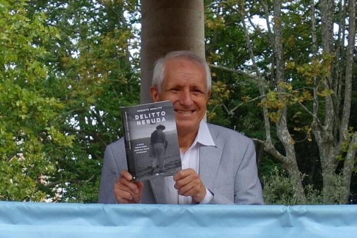 """Roberto Ippolito autore del libro """"Delitto Neruda' (Chiarelettere) 20 settembre 2020"""
