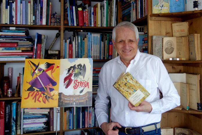 Roberto Ippolito racconta a 'Stregonerie Premio Strega tutto l'anno' Giovanni Arpino vincitore del nel 1964 riconoscimento letterario più importante 26 febbraio 2020