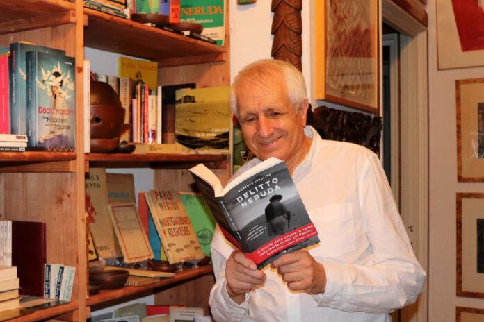Roberto Ippolito autore di 'Delitto Neruda' Chiarelettere 5 settembre 2020