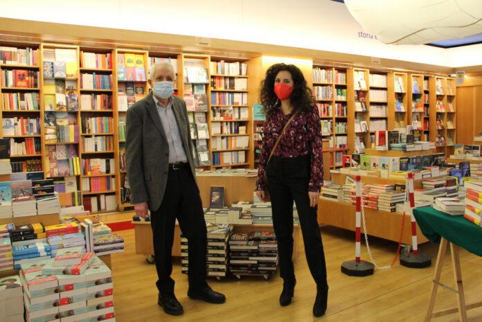 Roberto Ippolito e Silvia Avallone libreria Nuova Europa I Granai 9 marzo 2021