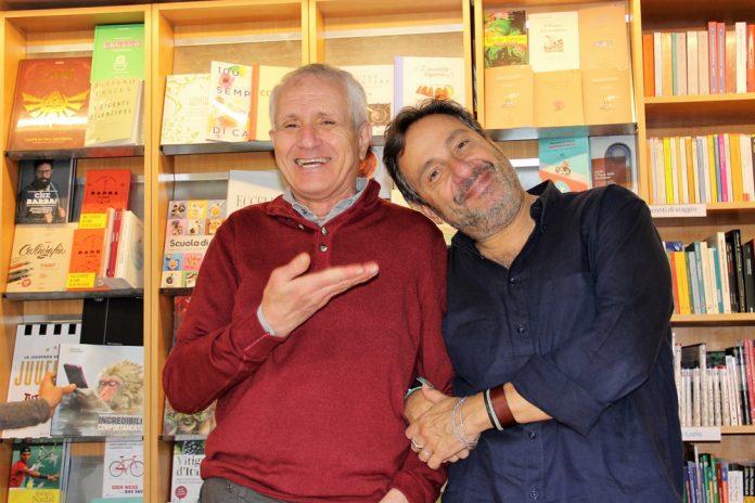 Roberto Ippolito e Mario Tozzi libreria Nuova Europa I Granai Roma 21 ottobre 2017
